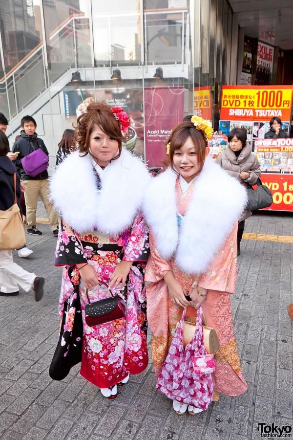 Kimono in Tokyo - Seijin no Hi (17)