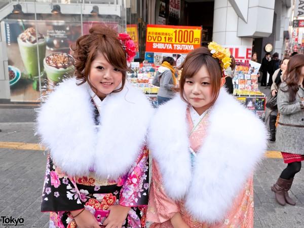 Kimono in Tokyo - Seijin no Hi (18)