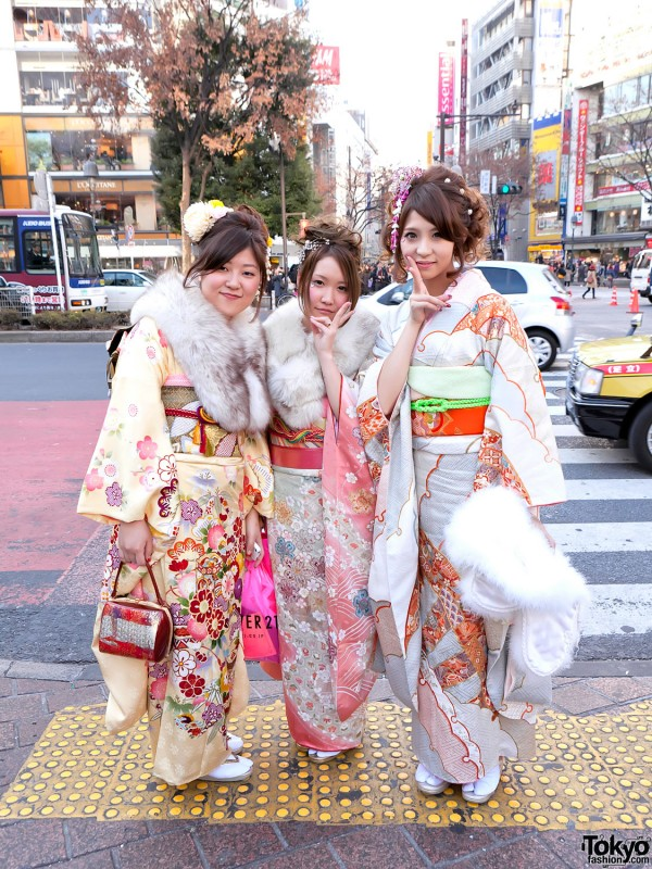 Kimono in Tokyo - Seijin no Hi (19)