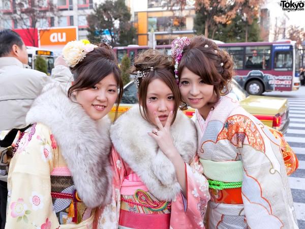Kimono in Tokyo - Seijin no Hi (20)