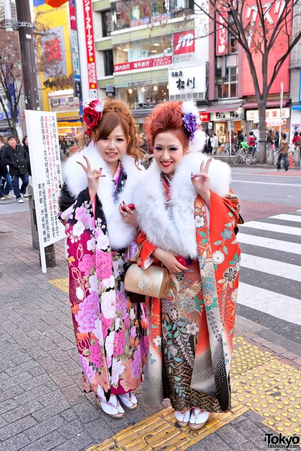 Kimono in Tokyo - Seijin no Hi (21)