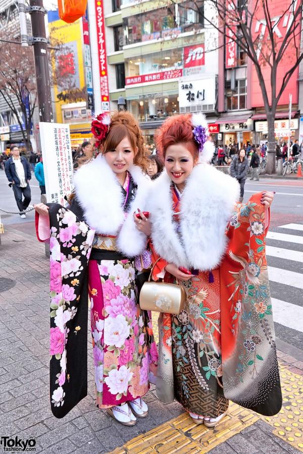 Kimono in Tokyo - Seijin no Hi (22)