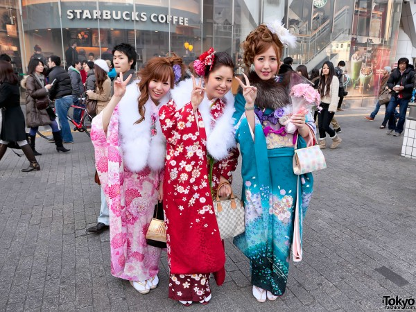 Kimono in Tokyo - Seijin no Hi (24)