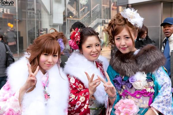 Kimono in Tokyo - Seijin no Hi (25)