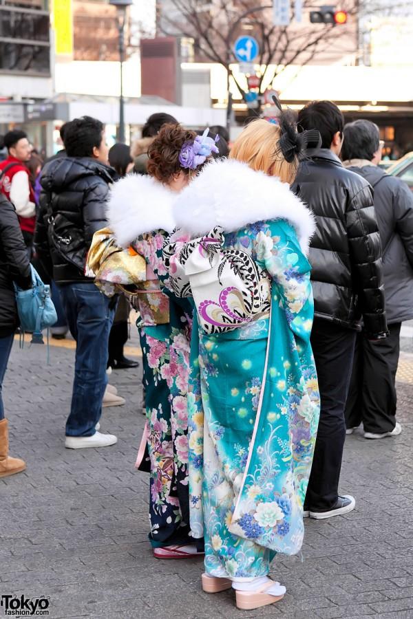 Kimono in Tokyo - Seijin no Hi (26)
