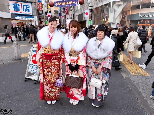 Kimono in Tokyo - Seijin no Hi (27)