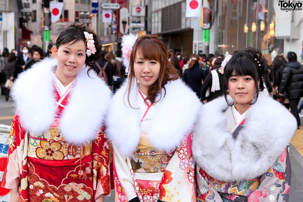 Kimono in Tokyo - Seijin no Hi (28)