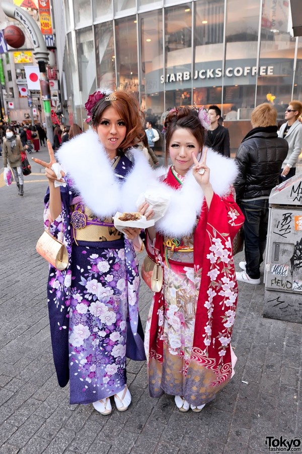 Kimono in Tokyo - Seijin no Hi (29)