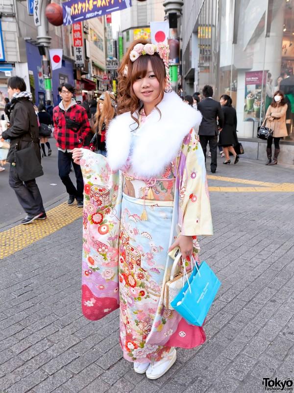Kimono in Tokyo - Seijin no Hi (31)