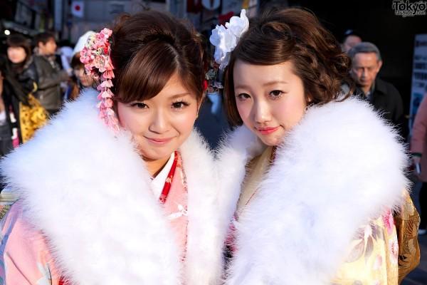 Kimono in Tokyo - Seijin no Hi (38)