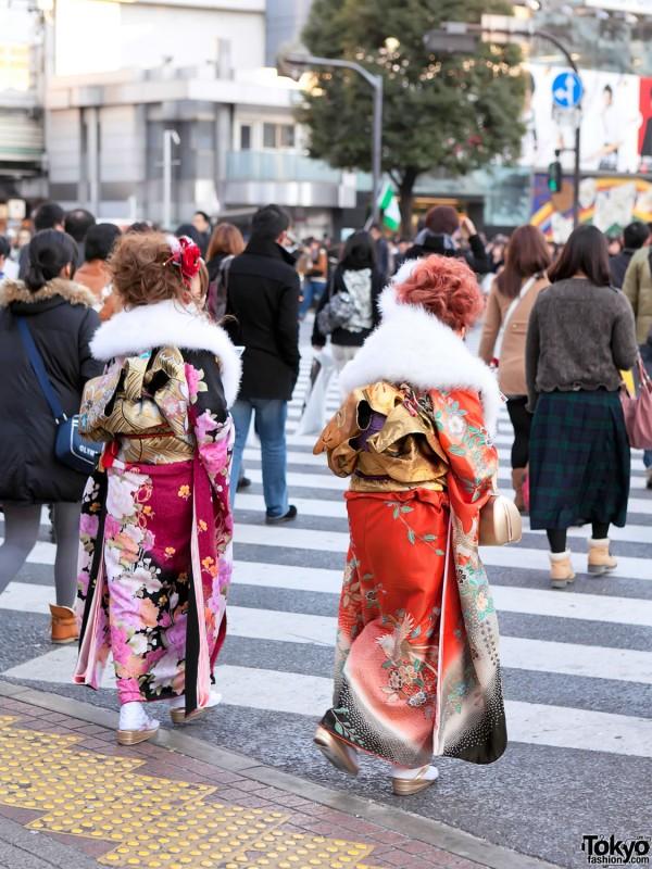 Kimono in Tokyo - Seijin no Hi (41)
