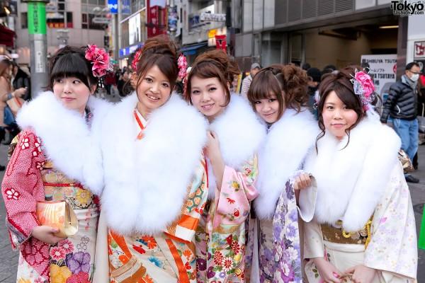 Kimono in Tokyo - Seijin no Hi (42)