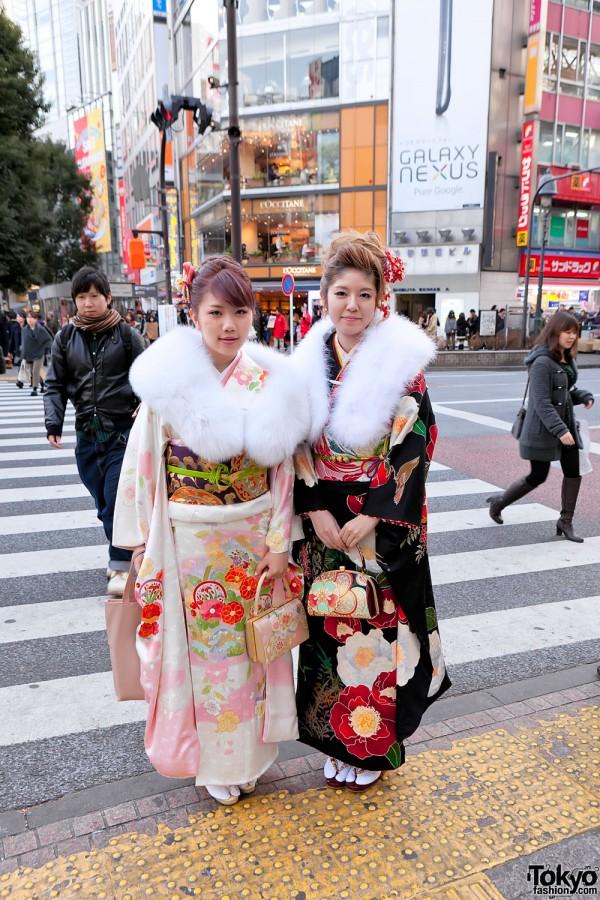 Kimono in Tokyo - Seijin no Hi (44)