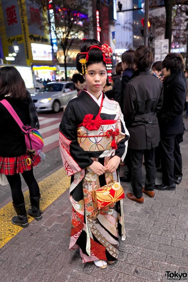 Kimono in Tokyo - Seijin no Hi (50)