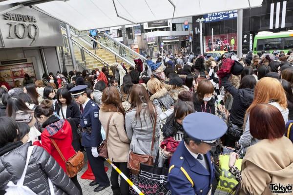 Fukubukuro in Shibuya (2)
