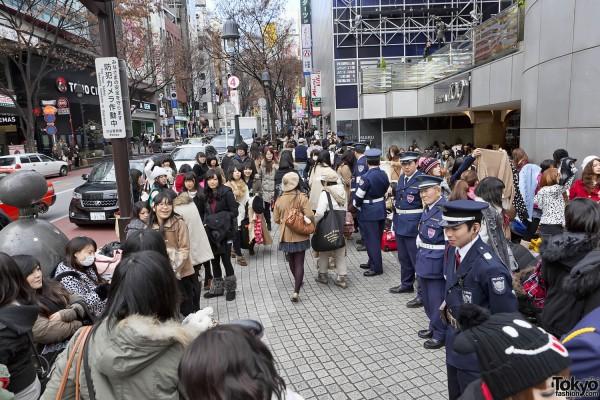 Fukubukuro in Shibuya (3)