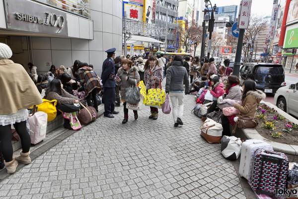 Fukubukuro in Shibuya (4)