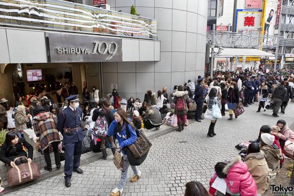Fukubukuro in Shibuya (5)
