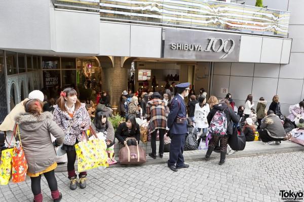 Fukubukuro in Shibuya (6)