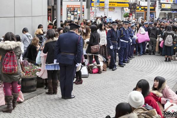 Fukubukuro in Shibuya (7)