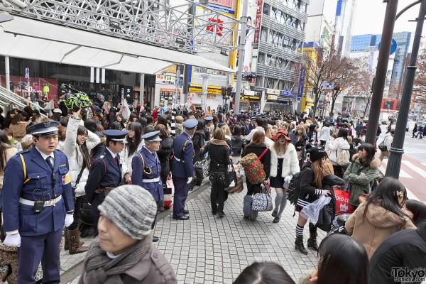 Fukubukuro in Shibuya (9)