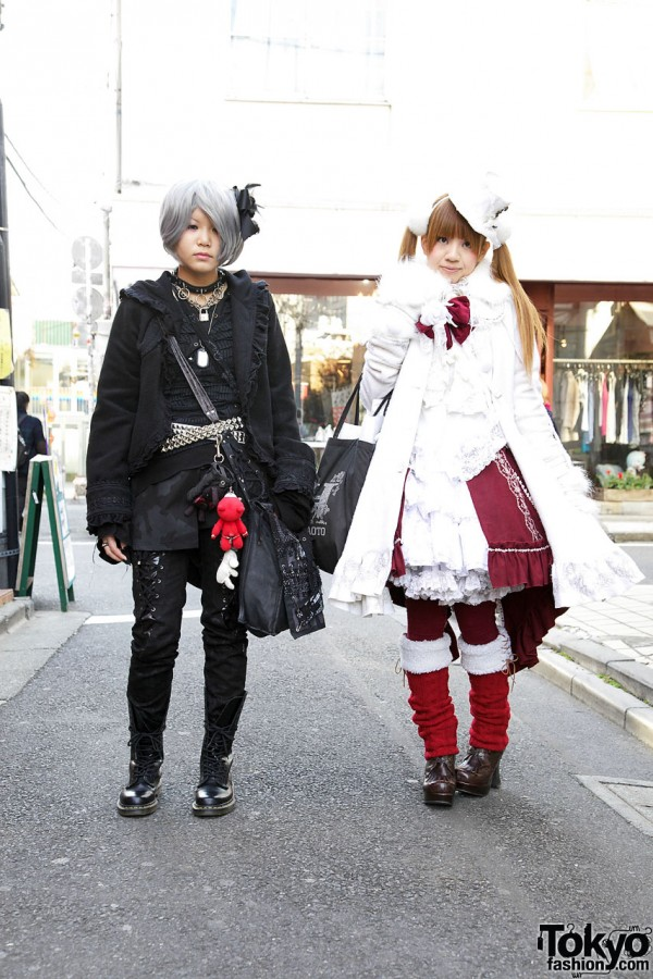 Gothic Lolita Style from h.NaotoFrill, Gramm & Yosuke
