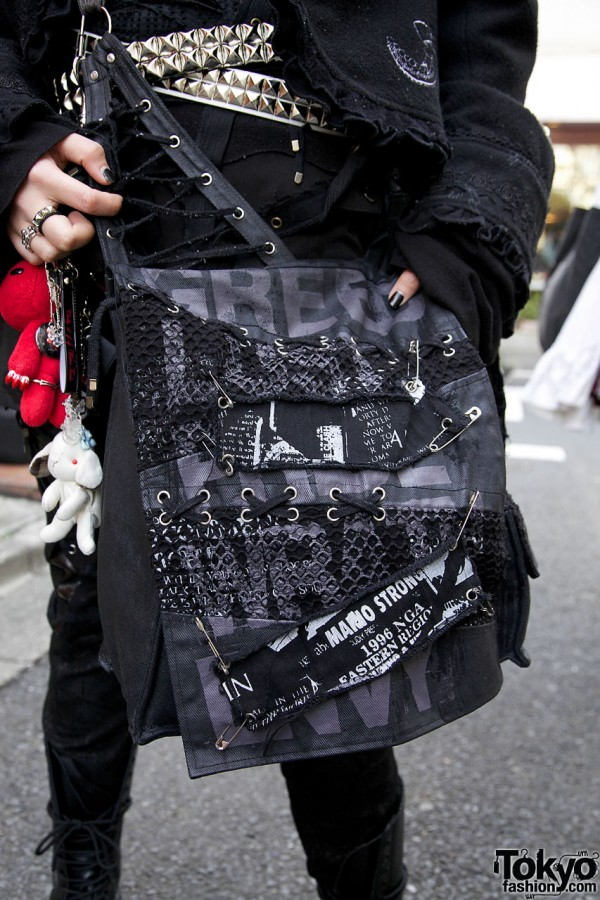 h.Naoto handmade bag in Harajuku