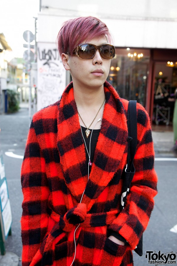 Harajuku Guy Wearing Kinsella Resale Fashion