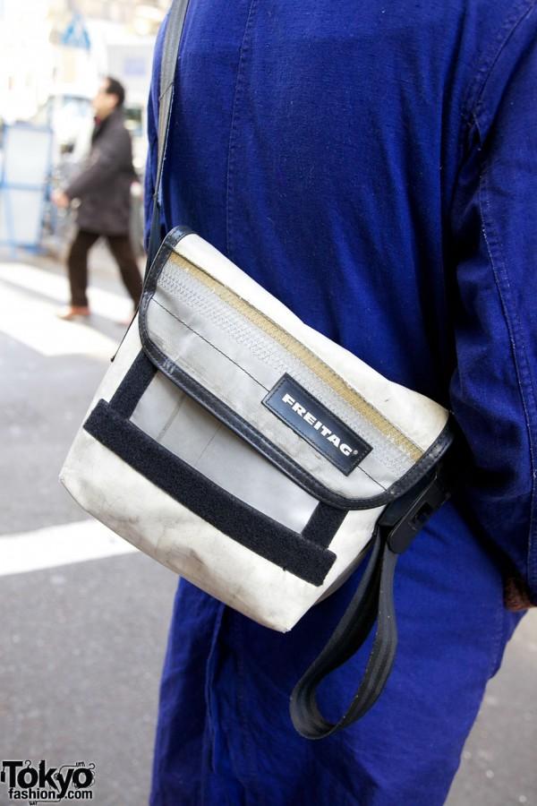 Freitag messenger bag in Harajuku