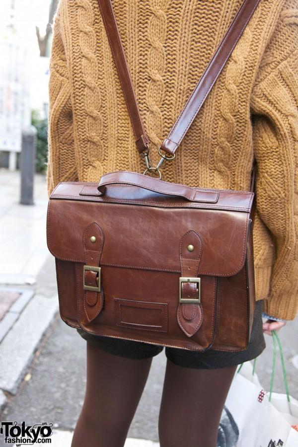 Satchel backpack in Harajuku