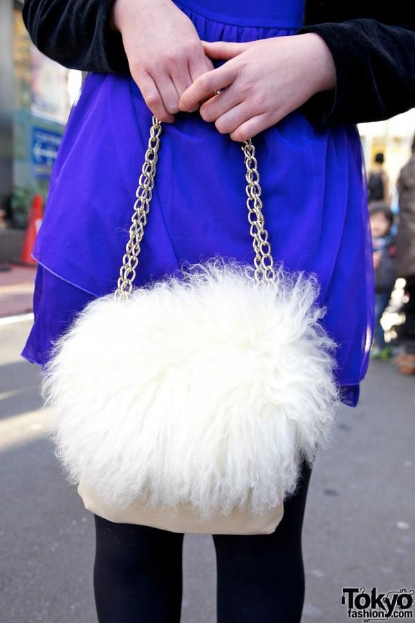 Vintage Chain Handbag in Harajuku