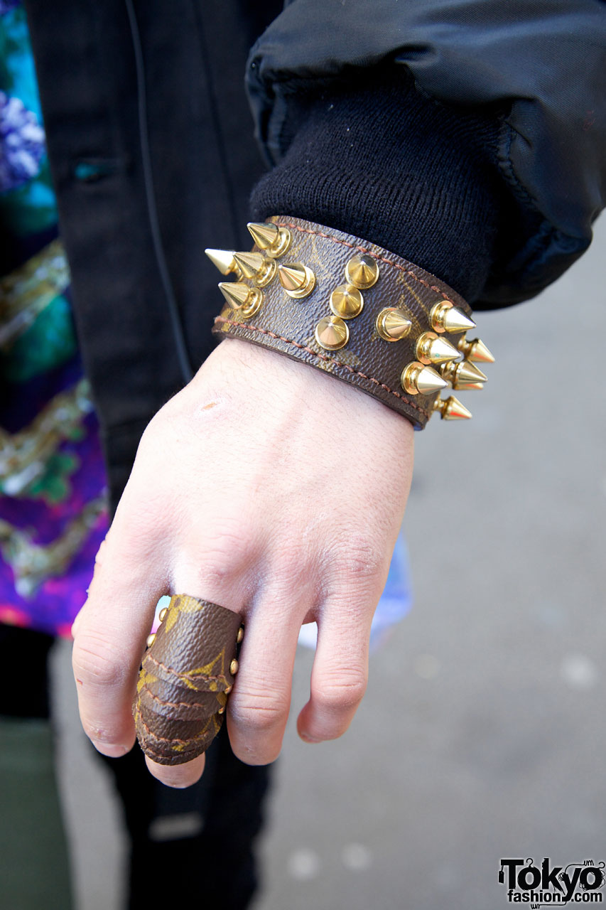 Leather Armor Ring in