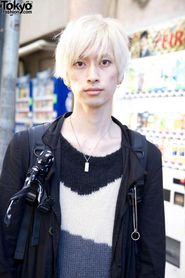 Blonde Japanese Male Model Tokyo Fashion News