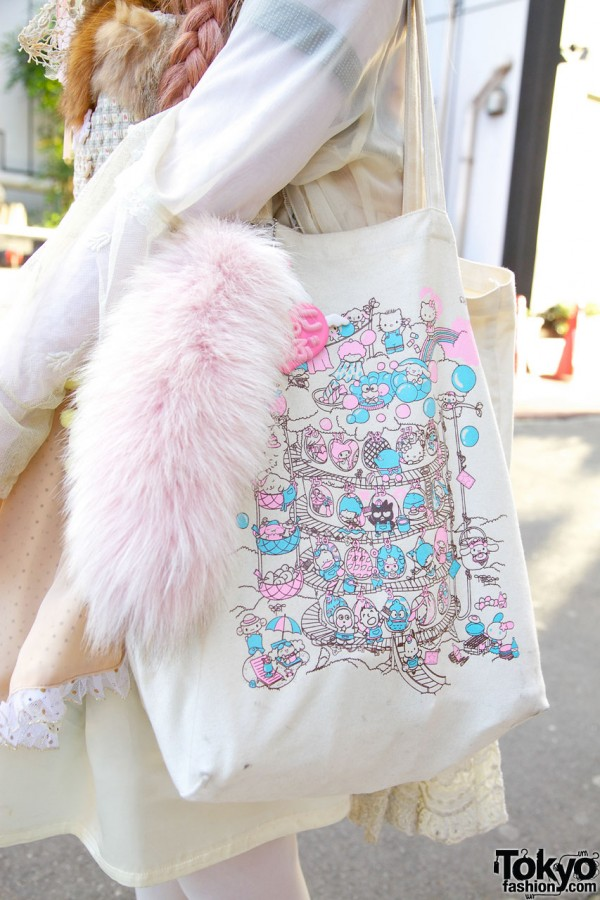 Sanrio Puroland Hello Kitty Bag