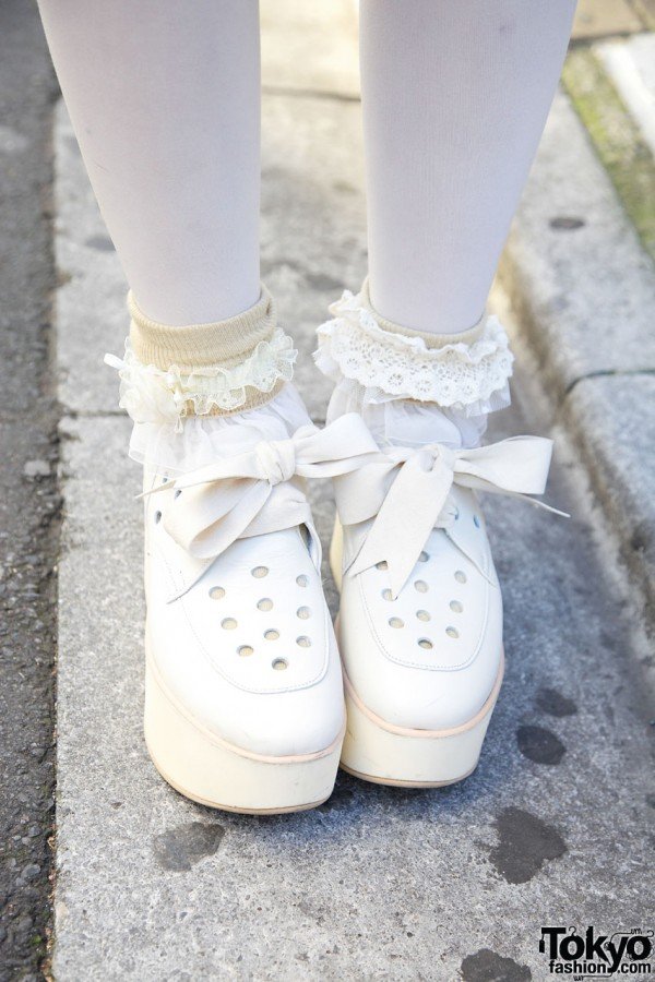 Tokyo Bopper Platform Bow Shoes