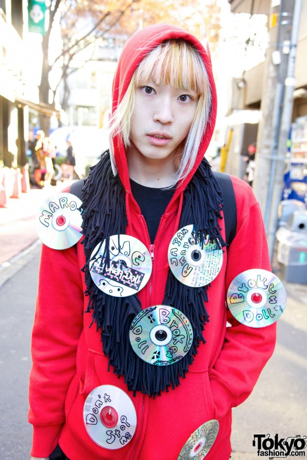 Broken Doll Harajuku Guy's Style