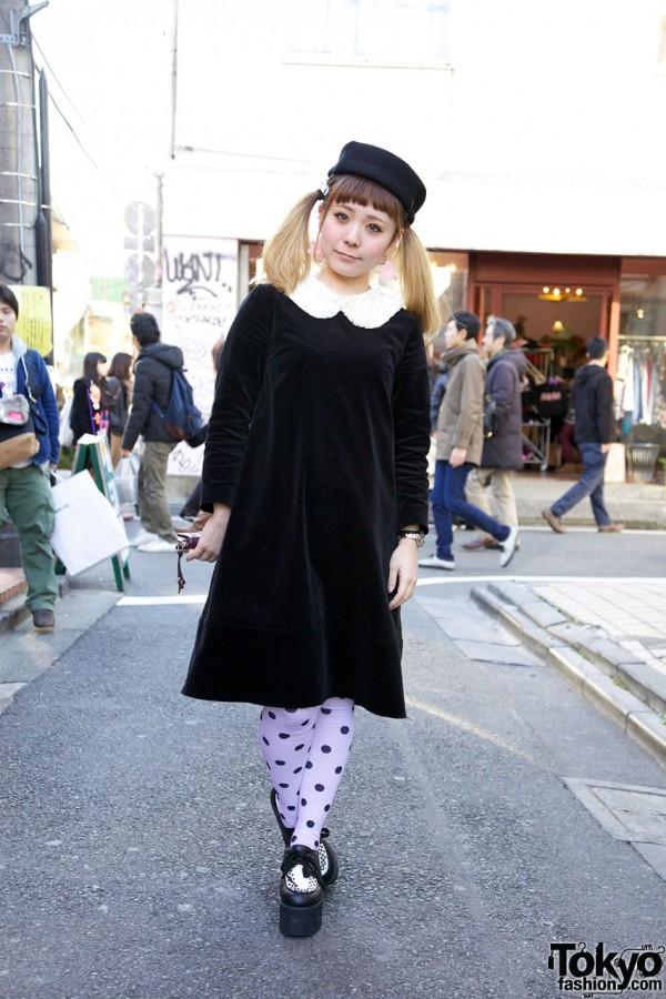 Jane Marple Dress in Harajuku