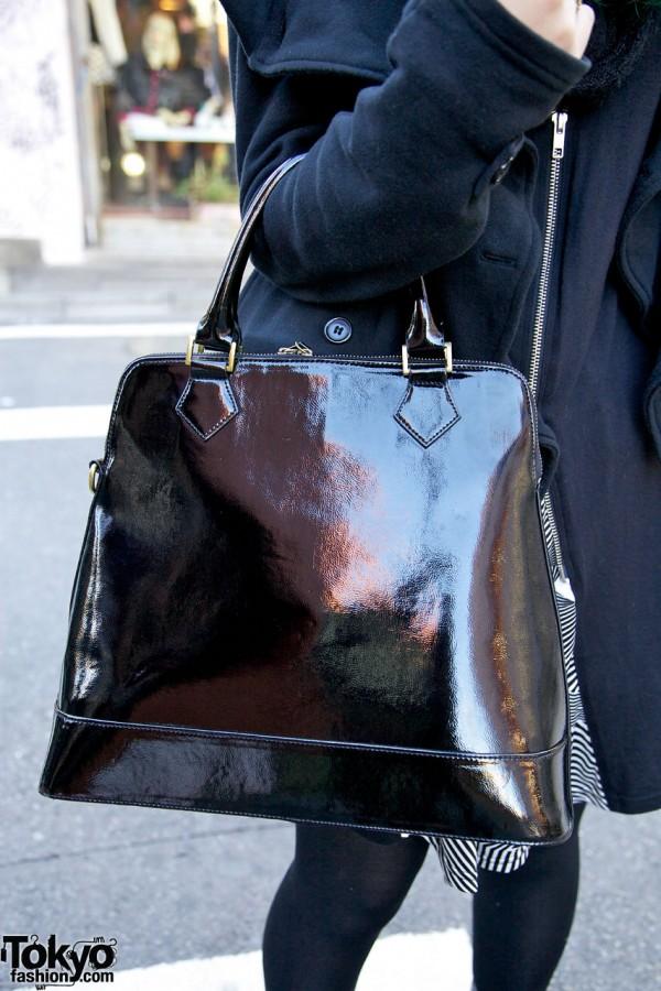 Shiny purse in Harajuku