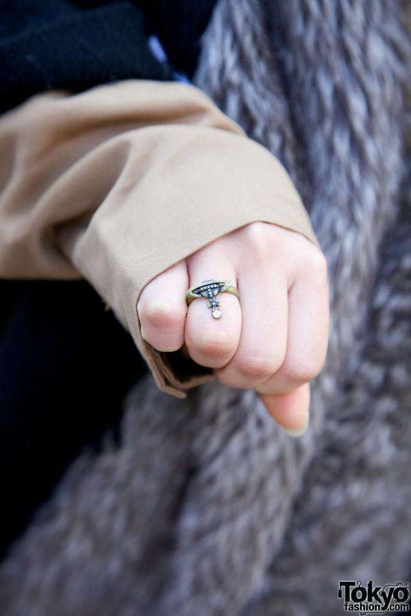 Vivienne Westwood ring in Harajuku