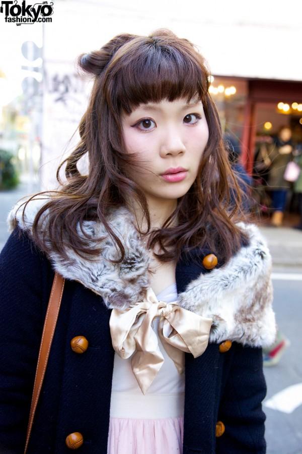Resale Fur Tippet from Kinji Harajuku