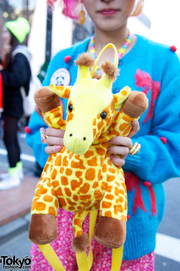 6%DOKIDOKI Giraffe Backpack
