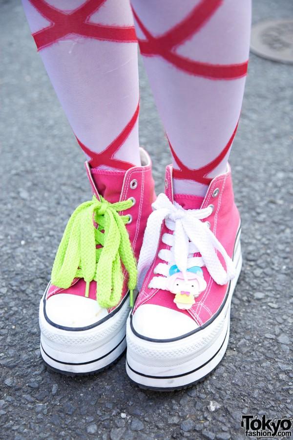 Super Lovers Platform Sneakers