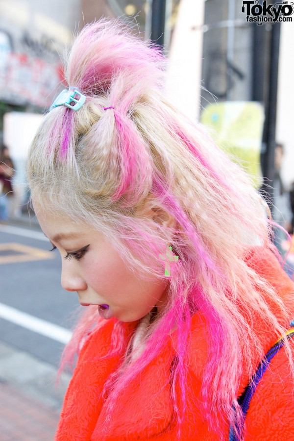 Coi From Bubbles Harajuku Pink Hair