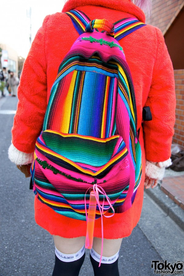 Mexican Blanket Pattern Backpack