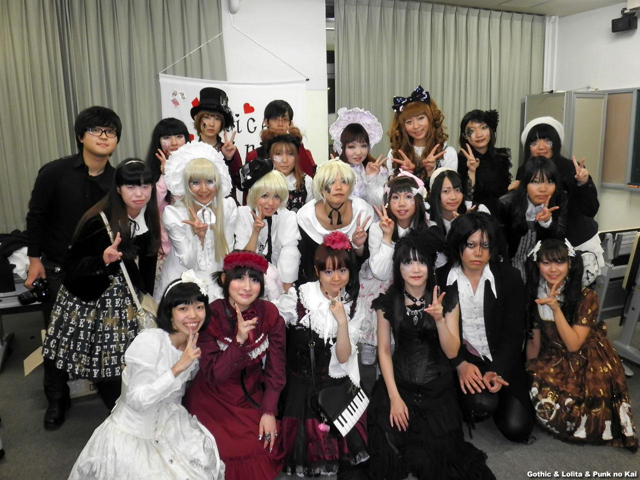 Lolita, Gothic, & Punk Fashion Show & Talk Event in Tokyo – March 4