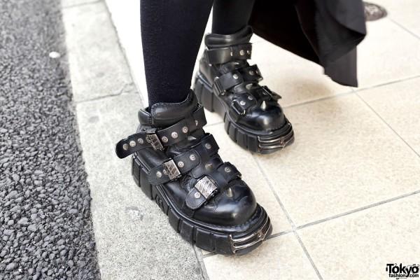 New Rock Boots in Harajuku