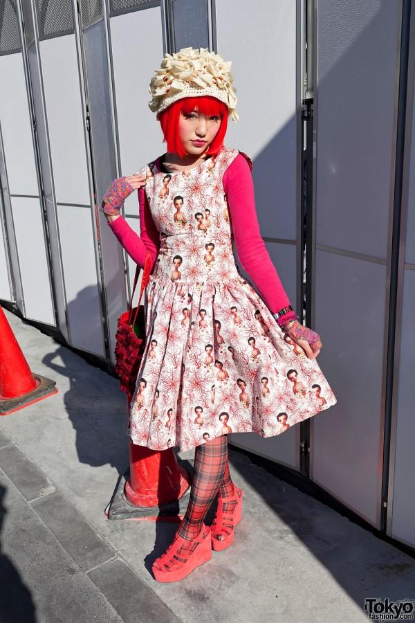 Broken Label Mark Ryden Nagi Noda Dress