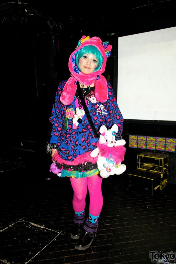 Pop N Cute by Harajuku Fashion Walk Street Snap (5)