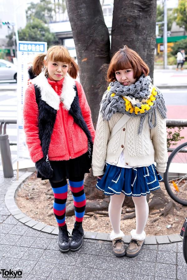 Kawaii Japanese Fashion in Shibuya