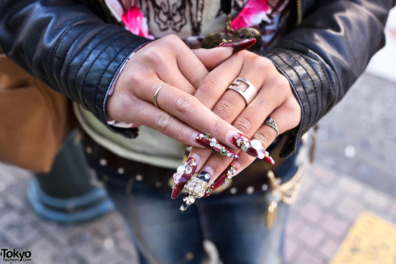 Shibuya Nail Art & Rings – Tokyo Fashion News